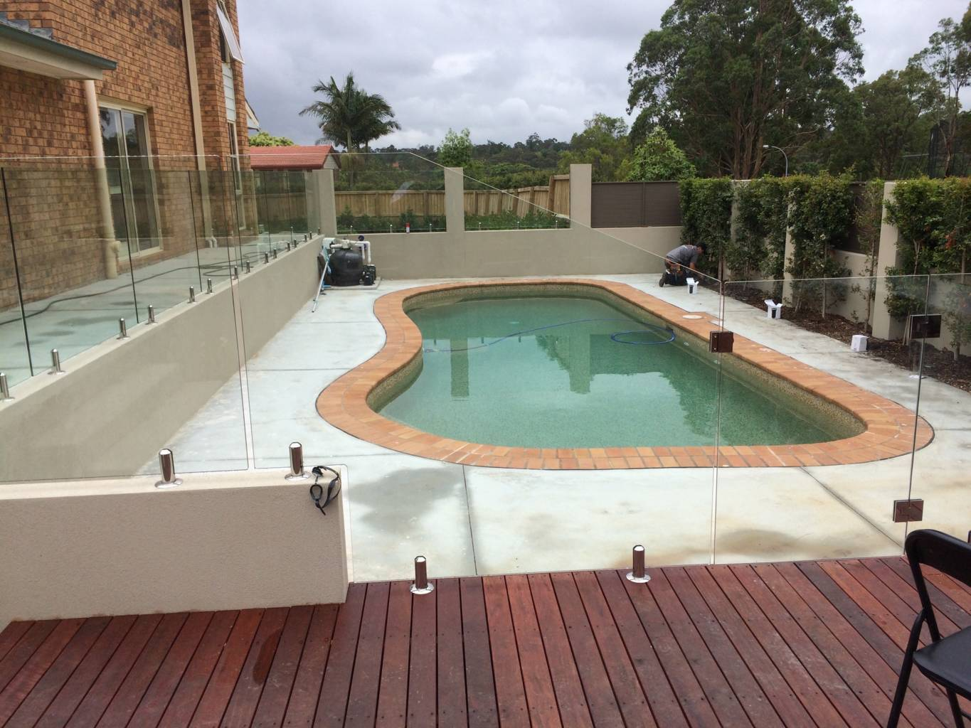 Melbourne Glass Pool Fence Panels