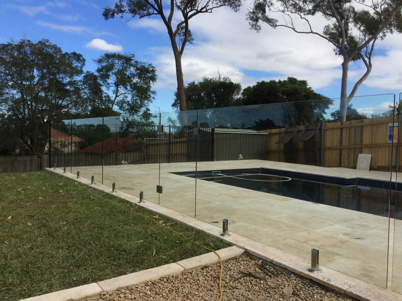 Perth Glass Pool Fence Panels