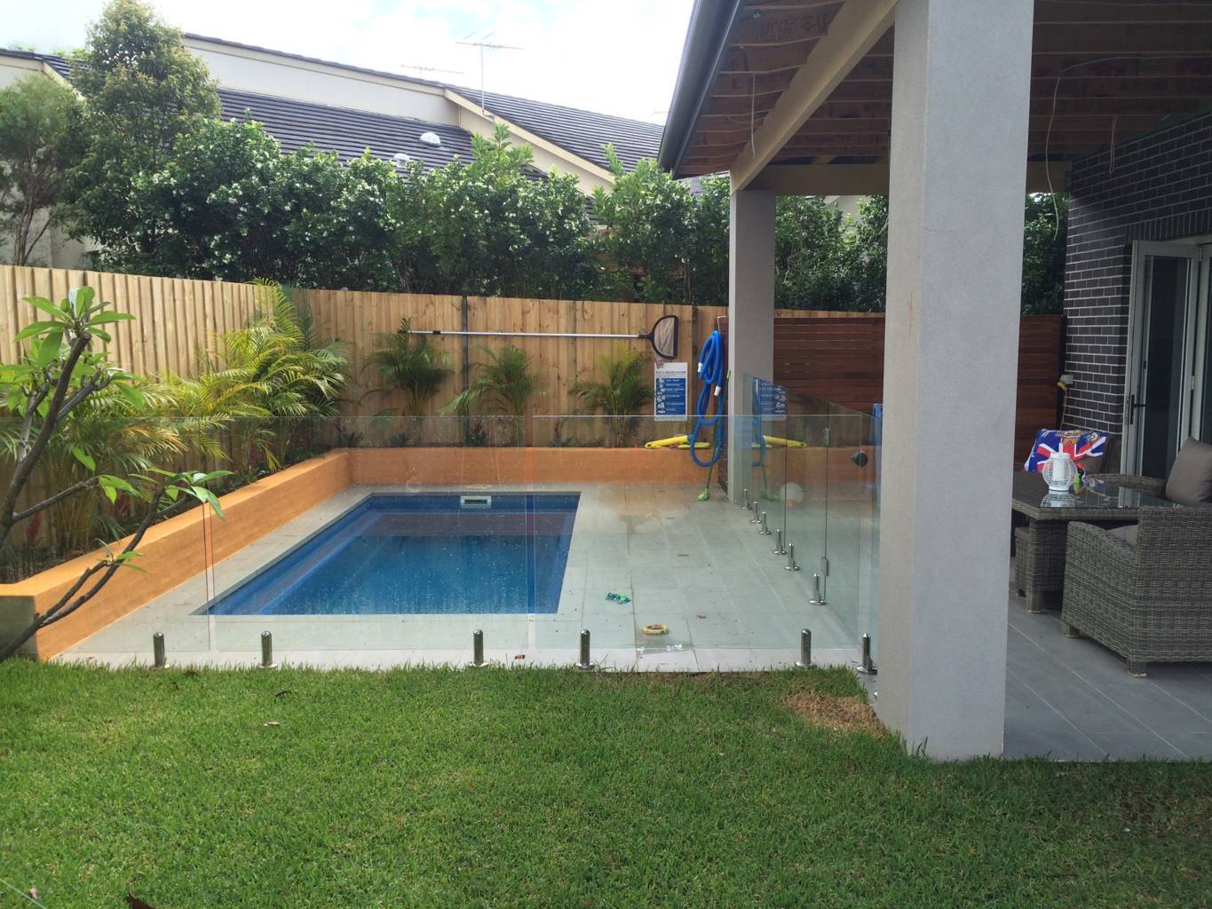 Sydney Glass Pool Fence Panels