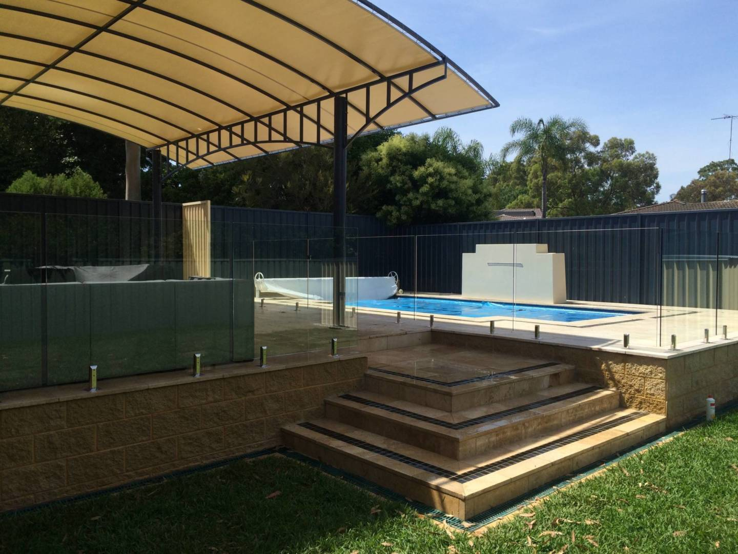 Custom Frameless Glass Pool Fences Sydney NSW