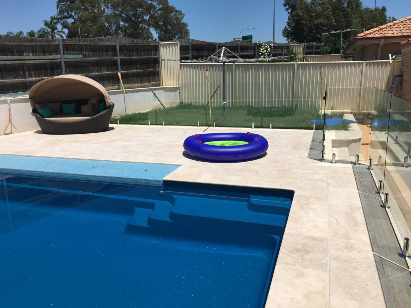 Frameless Glass Pool Fences Sydney